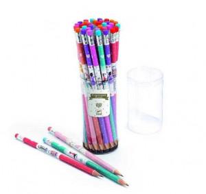 Creion cu radiera, Djeco