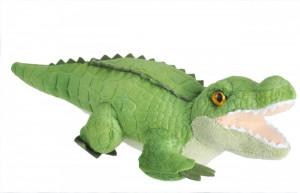 Crocodil - Jucarie Plus Wild Republic cu Sunet