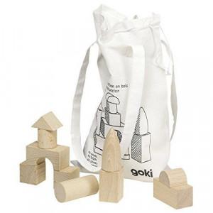 Cuburi pentru construit - 45 piese in saculet