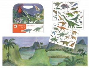 Dinozauri, set magnetic