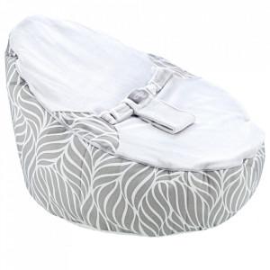 Fotoliu pentru bebelusi cu ham de siguranta Baby Bean Bed