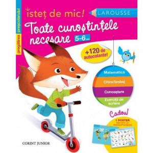 Istet de mic - Toate cunostintele necesare 5-6 ani - Carte povesti pentru copii