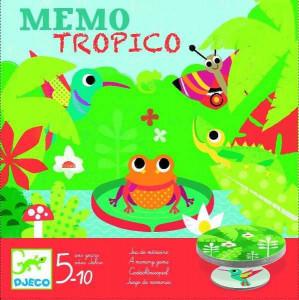 Joc de memorie MemoTropico Djeco