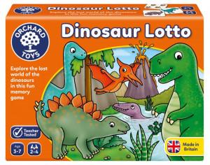 Joc educativ Dinozaur DINOSAUR LOTTO