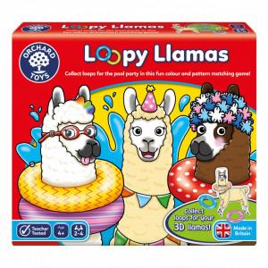 Joc educativ Lame cu colaci LOOPY LLAMAS