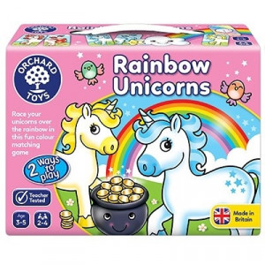 Joc educativ Unicornii Curcubeu RAINBOW UNICORNS
