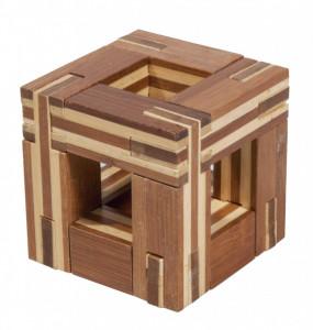 Joc logic IQ din lemn bambus Magic frame