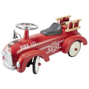 Masina rosie de pompieri Ride On
