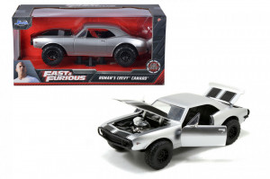 MASINUTA METALICA FAST AND FURIOUS 1967 CHEVY CAMARO SCARA 1 LA 24