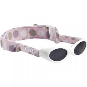 Ochelari de soare cu banda roz - Roz cu dungi