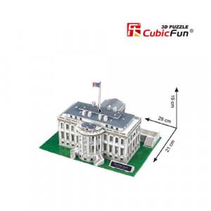 PUZZLE 3D LED CASA ALBA 151 PIESE