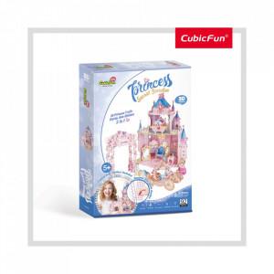 PUZZLE 3D + STICKERE GRADINA SECRETA A PRINTESEI 92 PIESE