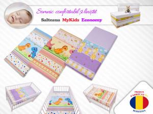 Saltea Fibra Cocos MyKids Economy II Color Diverse Modele 110x65x06 (cm)