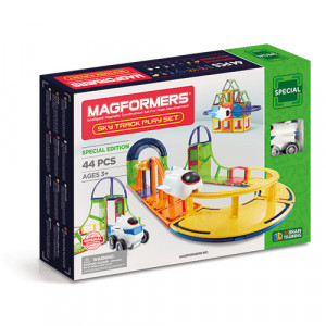 Set magnetic de construit- Magformers, Sky track play set