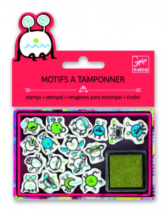 Set stampile Djeco, emoticons