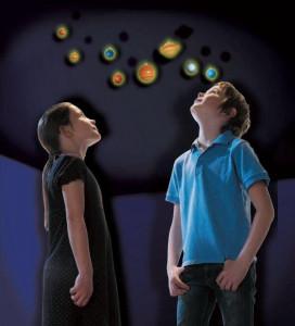 Sistem solar fosforescent
