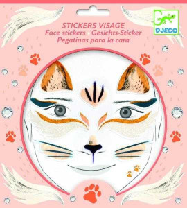 Stickere pentru fata Djeco, pisica