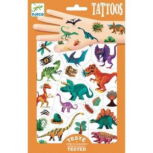 Tatuaje metalice Djeco, Dinozauri