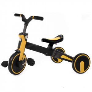 Tricicleta Uonibay 3 in 1, Pliabila - Yellow