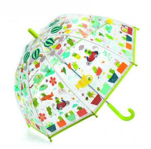 Umbrela colorata Djeco Broscute