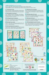 1000 Abtibilduri pentru copii- Djeco