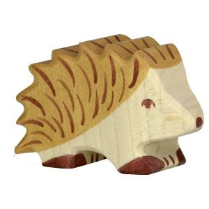 Arici - figurine din lemn de artar si fag