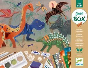Atelier creativ Djeco, Lumea dinozaurilor