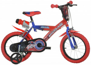 Bicicleta copii 14 '' Spiderman