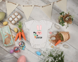 Body Bebe Personalizat My first Easter 2