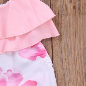 Costum de baie Trandafir