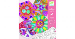 Crafturi din hartie Djeco, Mandala constelatii