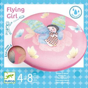 Disc frisbee Djeco, Zborul zanei