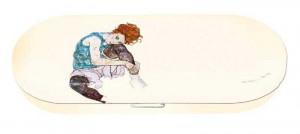 Etui ochelari Fridolin Edith, Egon Schiele