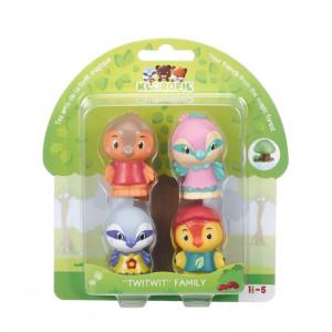 Familia de pasari Twitwit - Set figurine joc de rol