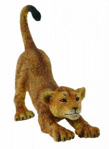 Figurina Pui de leu care se intinde S Collecta