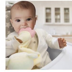 Jucarie atasament cu manusa dentitie BabyJem