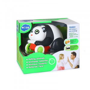 JUCARIE BEBE URSULETUL PANDA PUSH AND GO