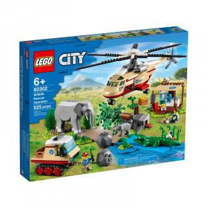 LEGO CITY OPERATIUNE DE SALVARE A ANIMALELOR SALBATICE 60302