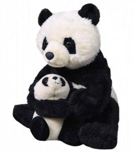 Mama si Puiul - Urs Panda