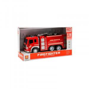 Masina de pompieri cu sunete si lumini, Fire Rescue, 3ani+ Hausmann