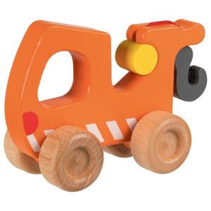 Masina de tractare - Jucarie din lemn pentru joc de rol