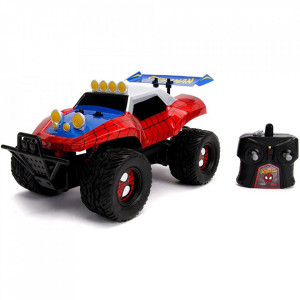 Masina Jada Toys Marvel Spider Man Buggy 1:14 cu telecomanda