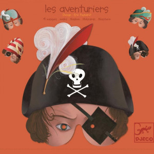 Masti de Carnaval/ Halloween- Djeco Aventurieri