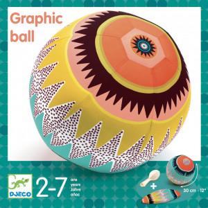 Minge usoara Djeco, Graphic ball