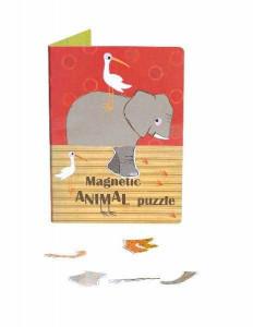 Puzzle magnetic cu animale