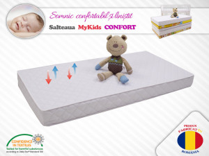 Saltea copii MyKids Cocos Confort II 50x70x10 (cm)