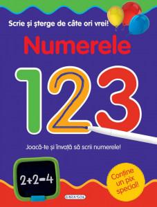 Scrie si sterge de cate ori vrei - Numerele - Carte povesti pentru copii
