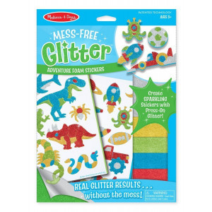 Set creatie abtibilduri cu sclipici Aventuri Melissa and Doug
