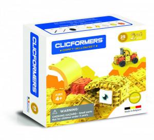 Set de construit Clicformers- Craft, galben