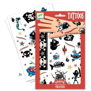 Tatuaje Djeco Pirati